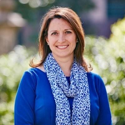 headshot of Kirsten Marriner at Clorox